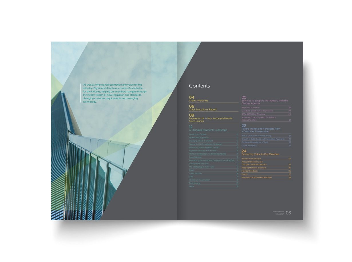 Graphic Design for Payments UK by Orbital Bournemouth