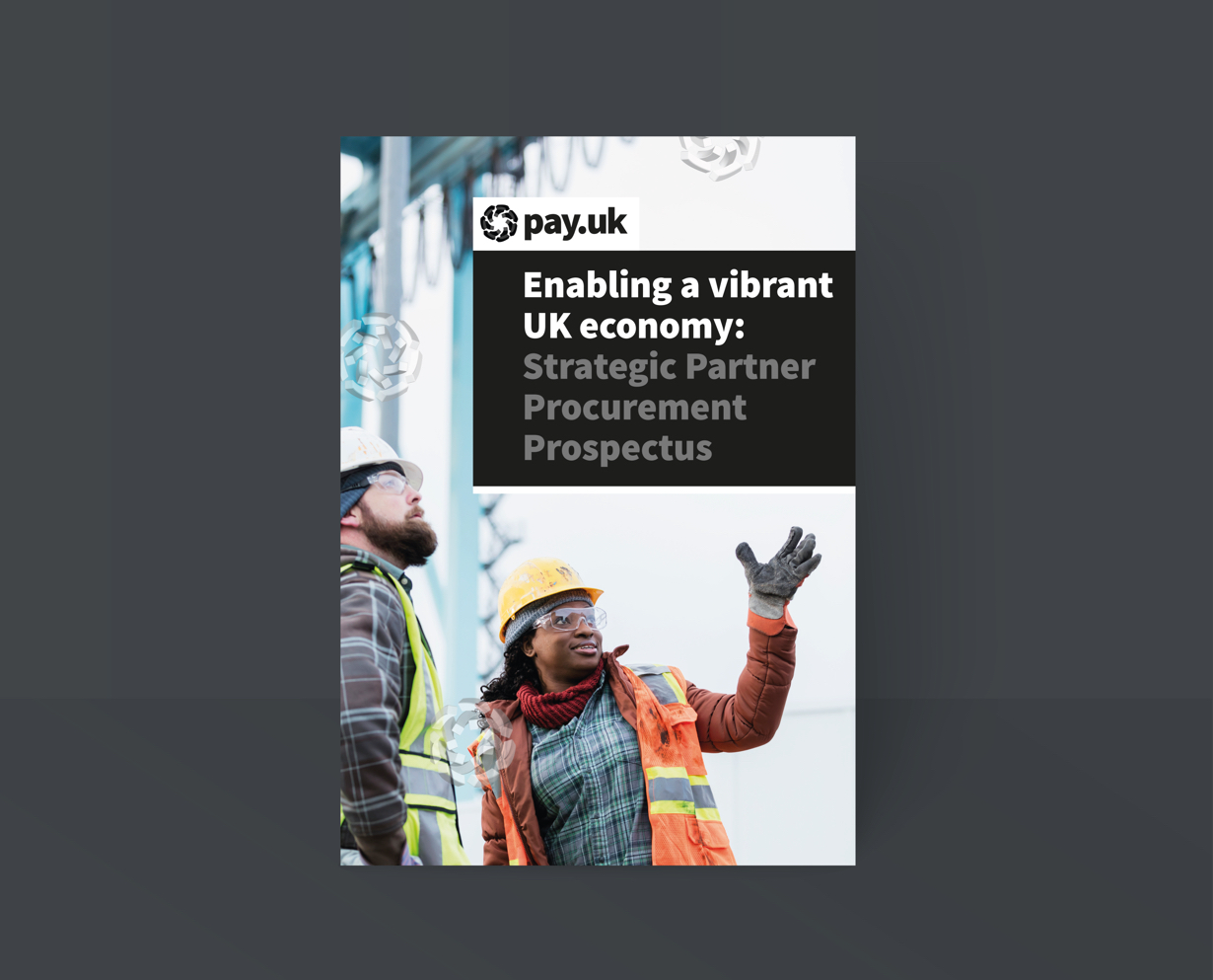 Pay.UK graphic design and brand development by Orbital