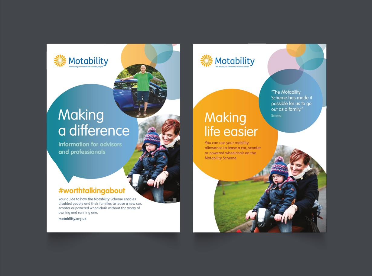 Motability Brand Development by Orbital Bournemouth