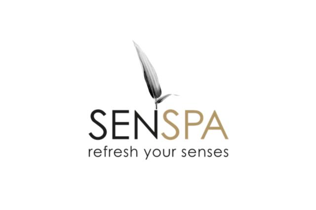 senspa logo design