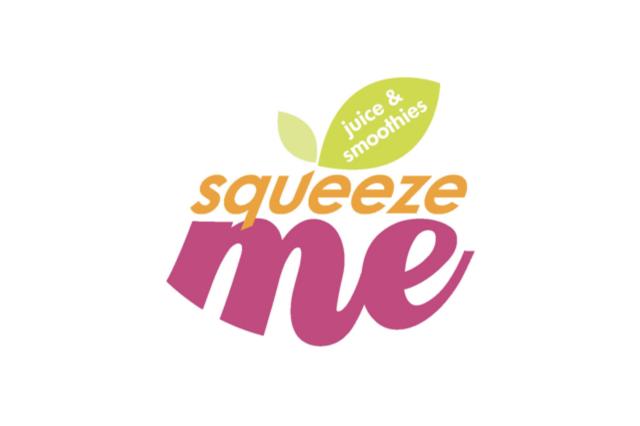 squeeze-me logo design