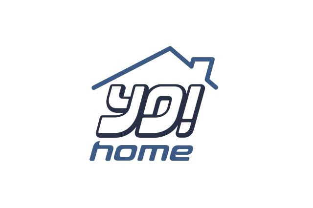 yohome logo design